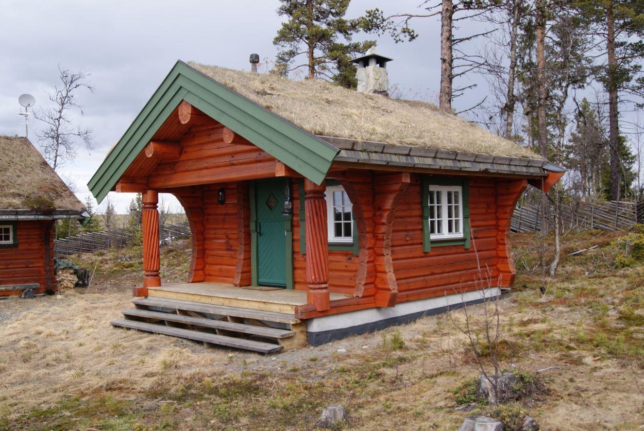 Bygger anneks og uthus